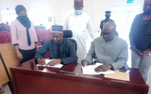 PRESS STATEMENT: NASENI, EBONYI STATE SIGN MoU on Industrial Clusters Through Establishment of Industrial Machinery & Equipment  Development Institute in Ebonyi State AND For Immediate Agricultural Facilities
